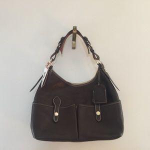 Dooney & Bourke Vachetta  Med. Lucy Shoulder Bag